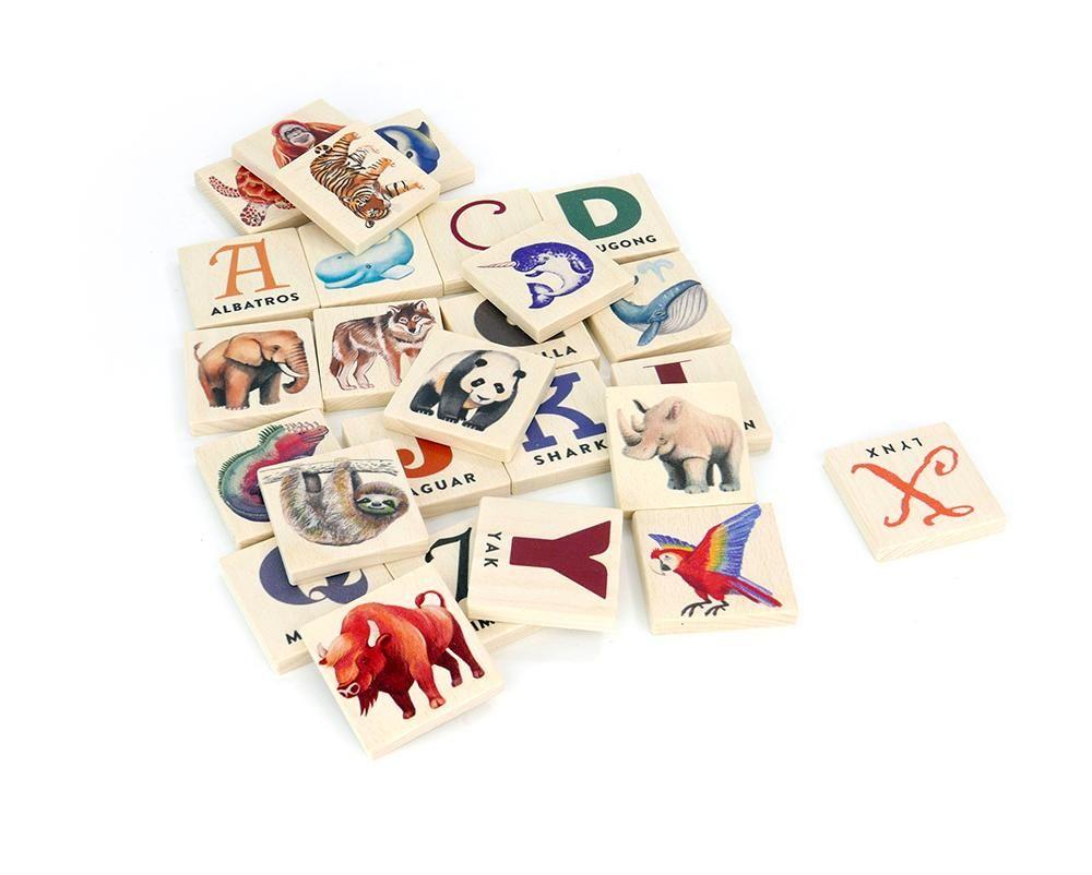 Endangered Animals Alphabet