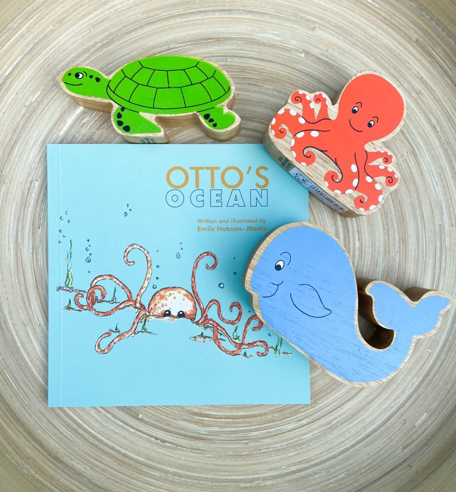 Otto's Ocean Book & Story Sack