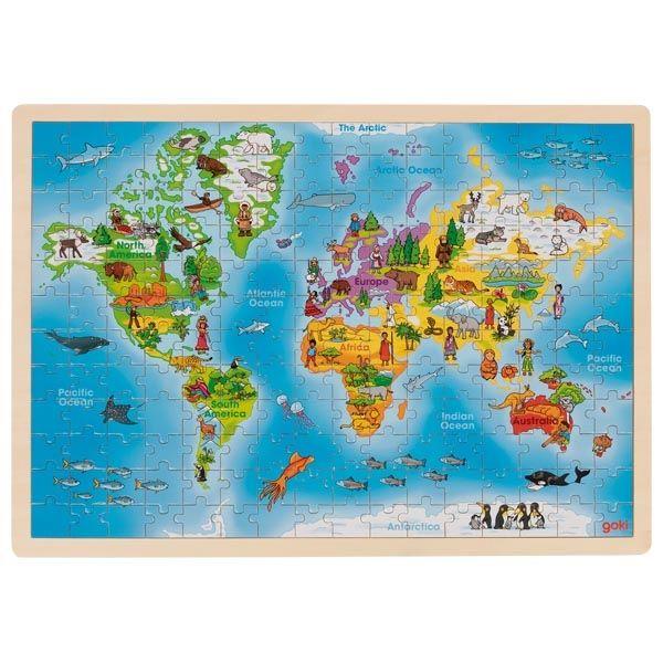 Puzzle - World