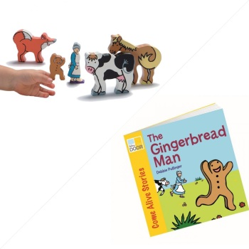The Gingerbread Man Story Sack