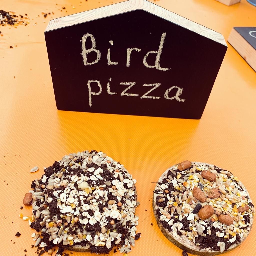 Make a Pizza for the Birds