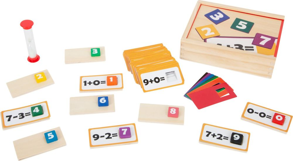 Mathematics Wooden Puzzle Game