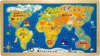 Puzzle, World Map