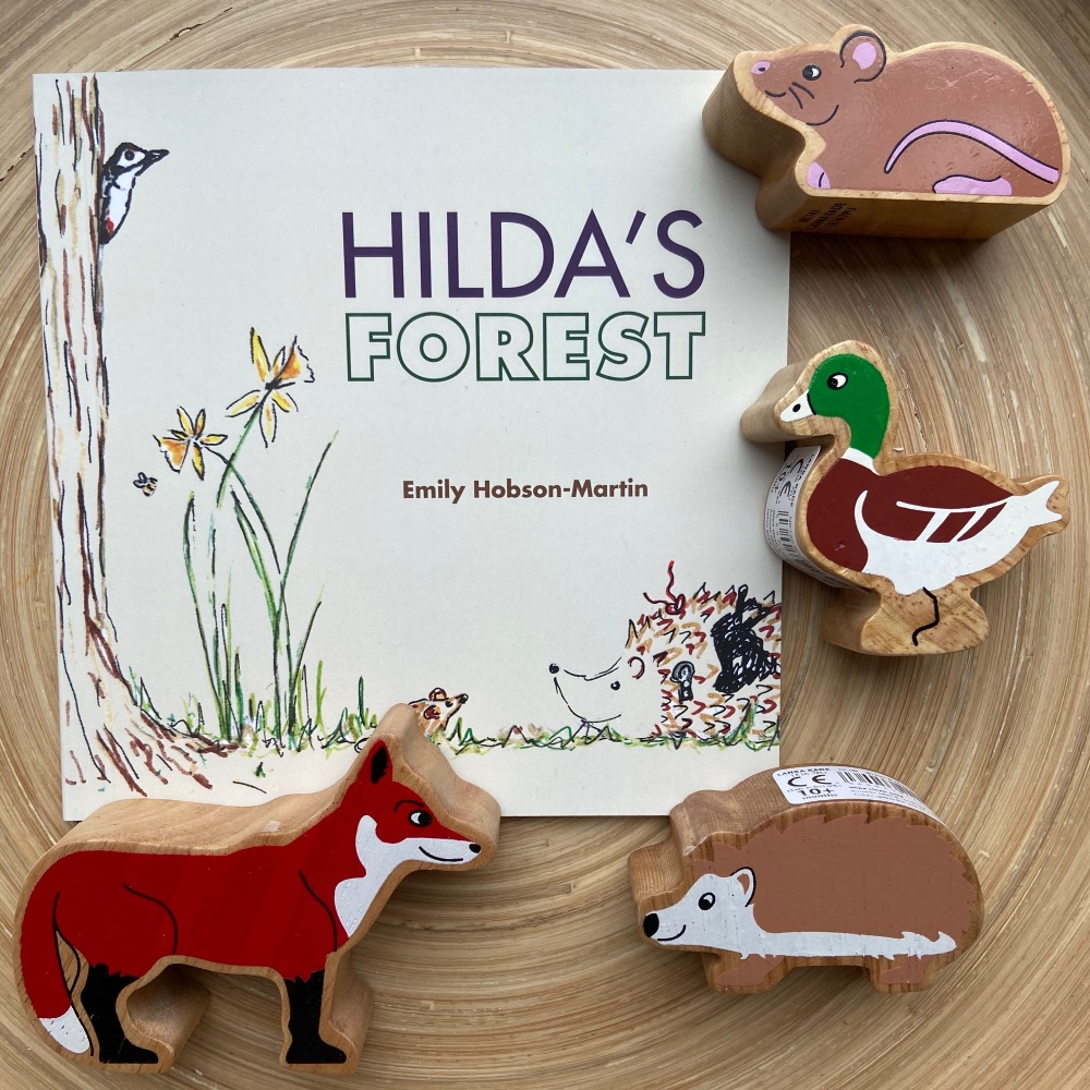 Hilda's Forest Book & Story Sack