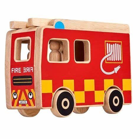 Lanka Kade - Fire Engine Playset +3 people