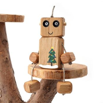 Ned the Robot - Christmas Tree Ned