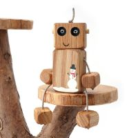 Ned the Robot - Christmas Snowman Ned was £26 now £19.50 - 25% off