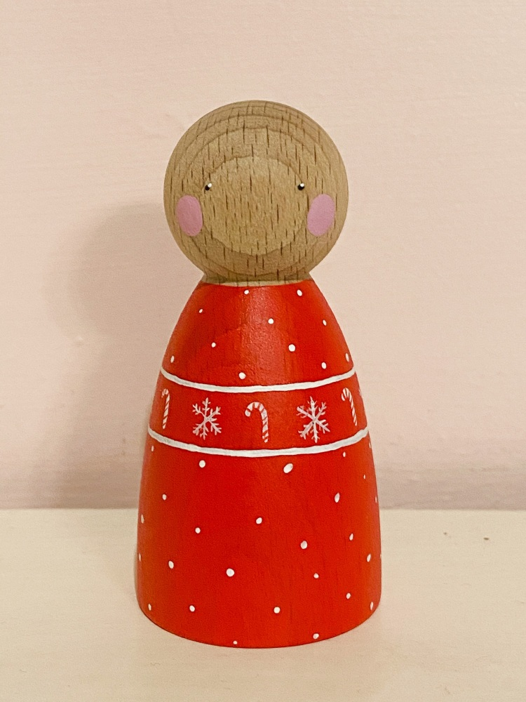 Peg Doll, Christmas Jumper Melodie