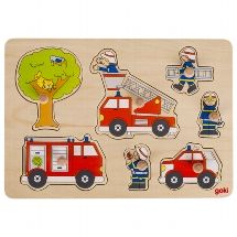 Peg Puzzle - Fire Fighters in Action