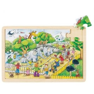 Puzzle - Visit At The Zoo
