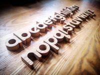 Reel Wood Designs, Lowercase Alphabet