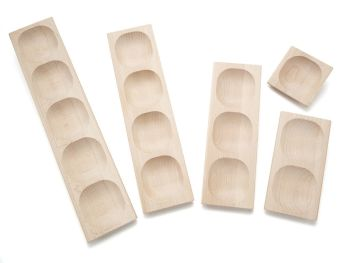 1,2,3,4,5 Frame Tray Set