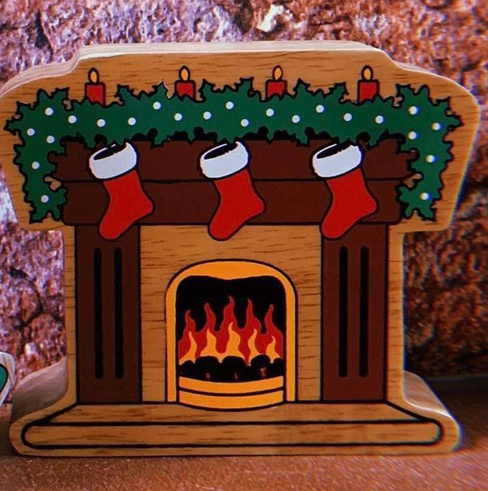 Lanka Kade - Christmas, Fireplace