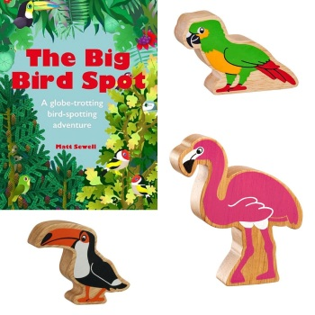 Big Bird Spot Book & Birds Bundle
