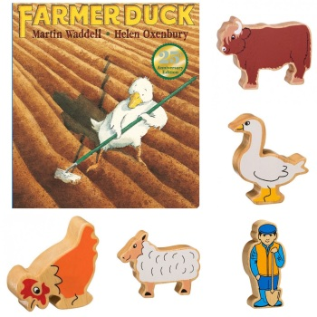Farmer Duck Story Sack