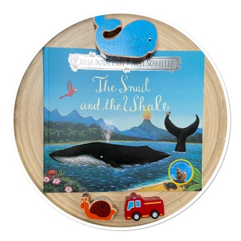 Snail & the Whale Story Sack