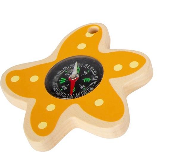Explorer Toys - Starfish Compass