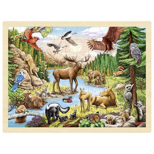 Puzzle - North American Wilderness