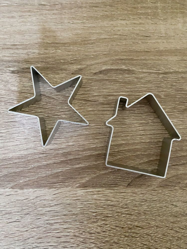 Cookie Cutters, House and Star