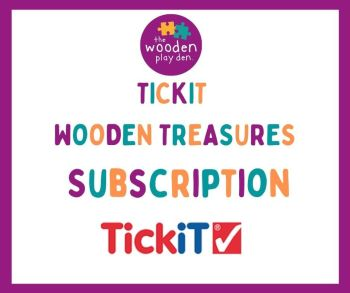 TickIT Wooden Treasures Subscription