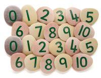 Jumbo Number Pebbles