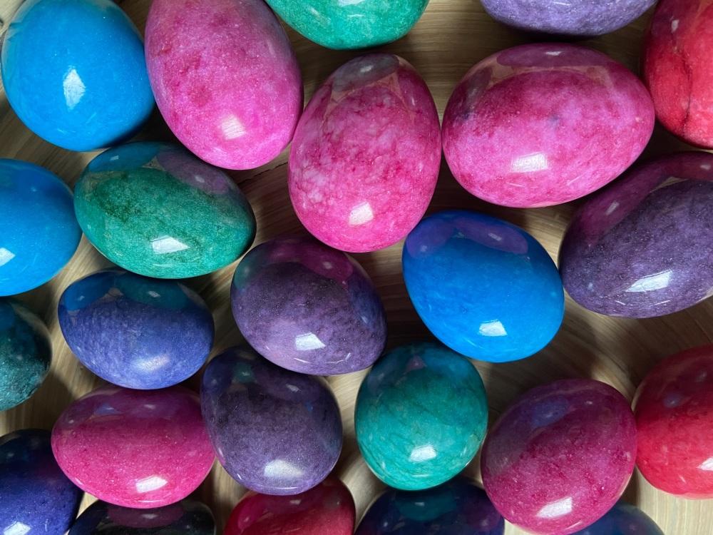 Coloured Marble Eggs