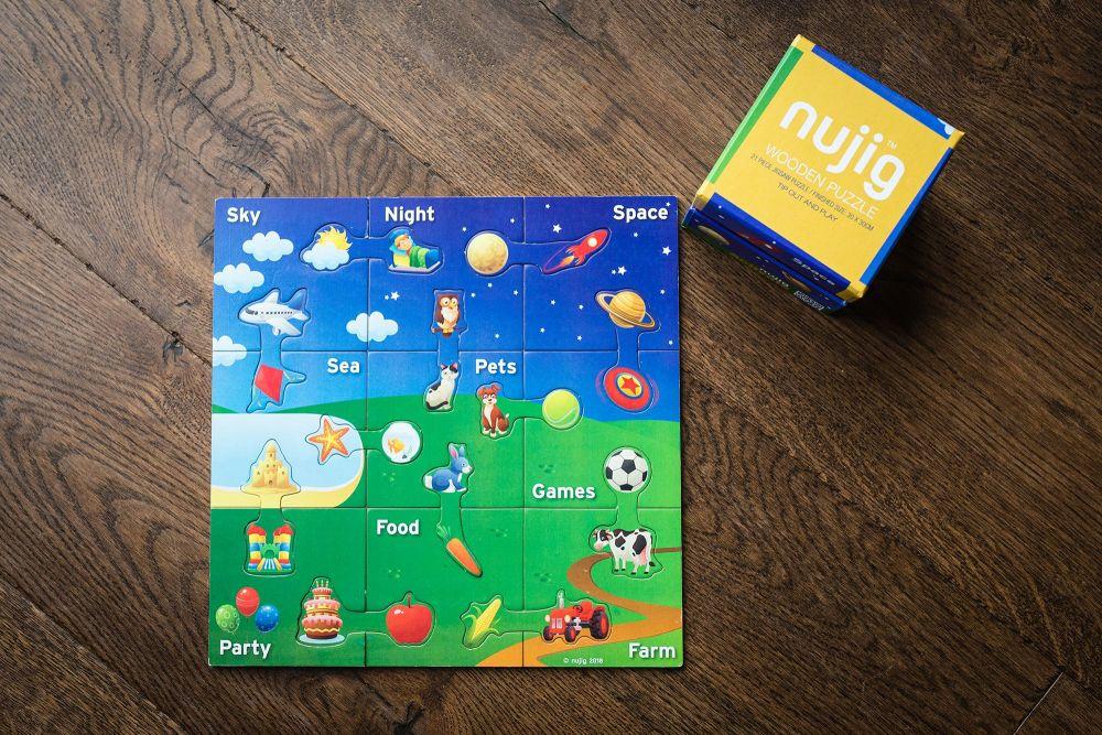 The Original - Nujig Puzzle