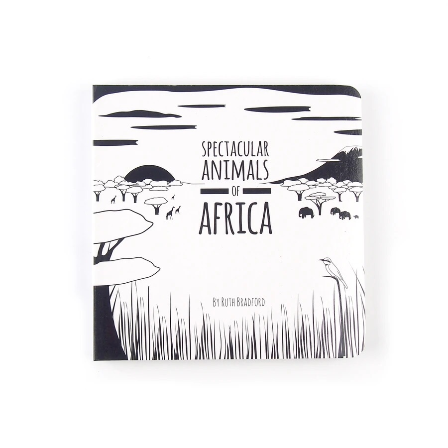 Spectacular Animals of Africa - Board Book