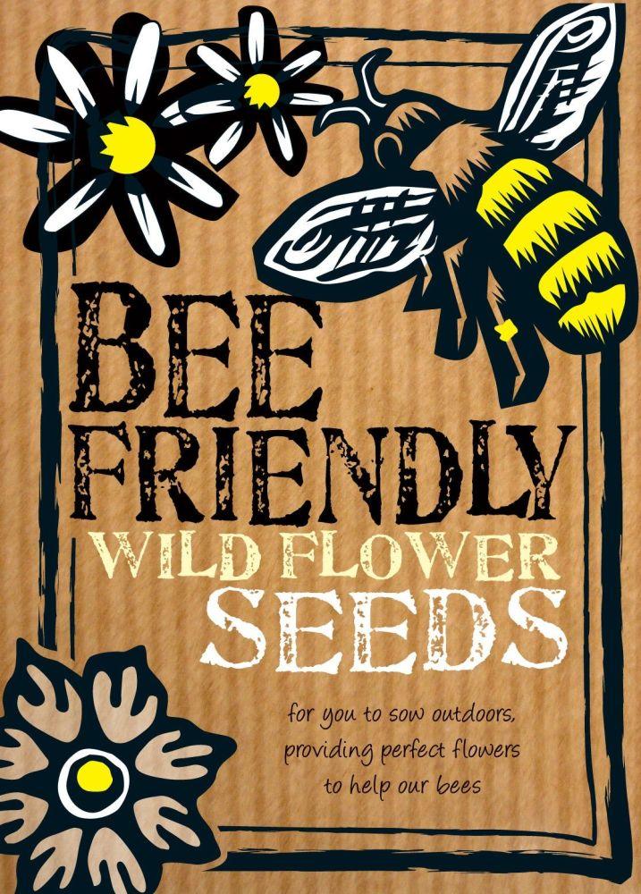 Bee friendly British wildflower seeds