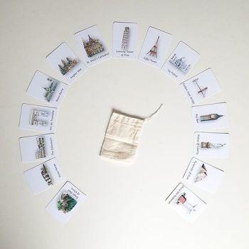Flashcards - Landmarks