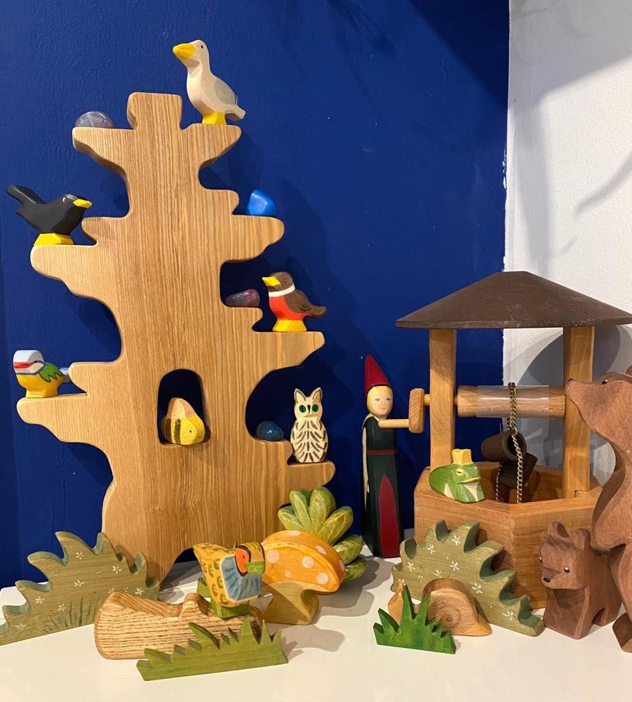 Handmade Wooden Tree
