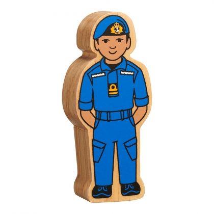 Lanka Kade - Figure, Natural blue navy officer- NEW