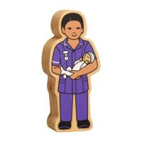 Lanka Kade - Figure, Natural purple midwife