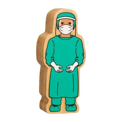 Lanka Kade - Figure, Natural turquoise surgeon in visor - NEW