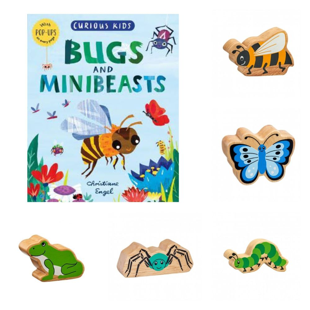 Curious Kids Bugs & Mini Beasts