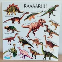 Portable Poster Board - Dinosaurs