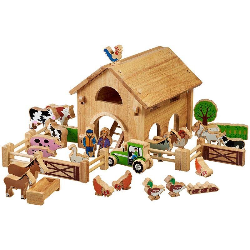 Lanka Kade - Deluxe farm barn set with colourful characters