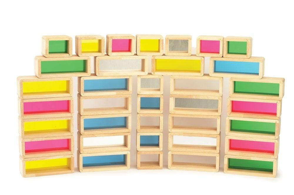 Rainbow Bricks Set