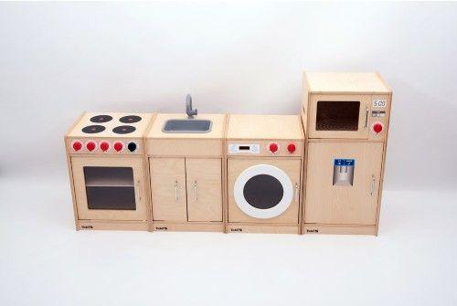 Wooden 5 Feature Kitchen