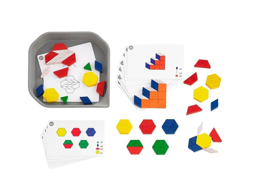 Fun Play Wooden Pattern Blocks