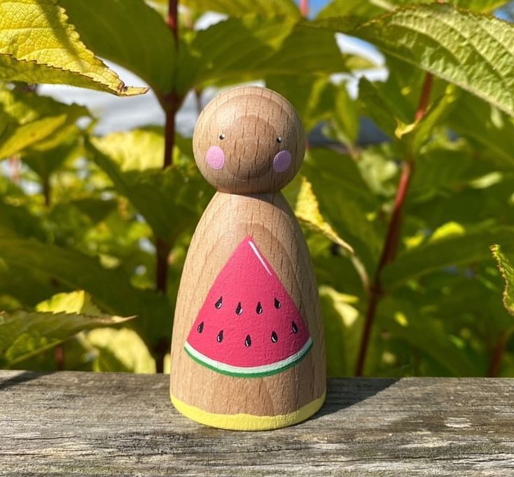 Peg Doll, Summer Collection - Watermelon