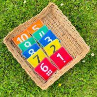 Bean Bags, Number & Dot (1-10)