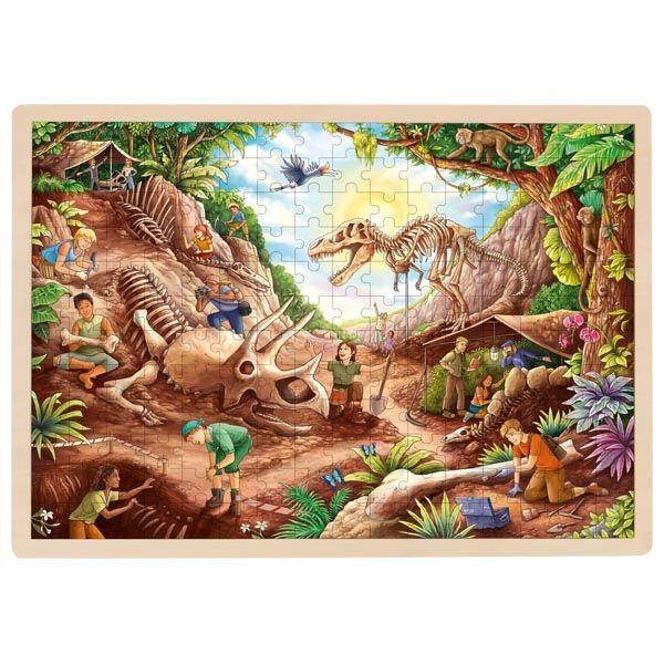 Puzzle - Dinosaur Excavation Site Jigsaw
