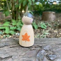 Peg Doll, Forest Friends - Maple leaf