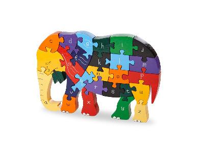 Alphabet Jigsaw - Elephant