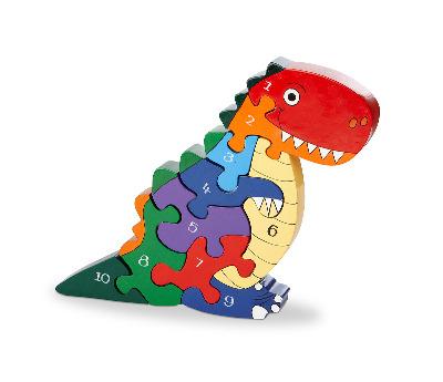 Number JIgsaw - T Rex