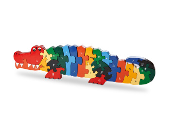 Alphabet Jigsaw - Crocodile