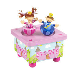 Prince and Princess Music Box