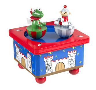 Knight and Dragon Music Box