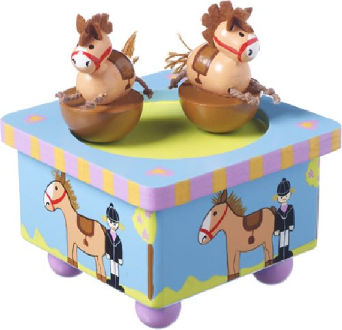 Dancing Pony Music Box